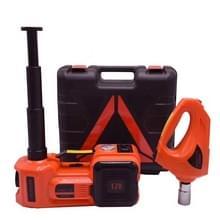 3 in 1 auto elektrische Jack luchtpomp elektrische moersleutel onderhouds hulpmiddelen set (rood)