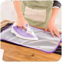 5 STKS strijkplank cover beschermende mesh Iron Protect cover doek  stijl: groot formaat (willekeurige kleur levering)