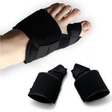 1 paar zachte bunion corrector teen separator splint correctiesysteem hallux valgus voetverzorging pedicure orthesen  maat: L