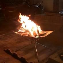 Outdoor brand branden draagbare vaste brandstof frame vouwen oven Fire rack Camping tools