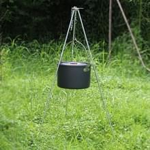 Outdoor Camping koken statief opknoping pot duurzaam draagbare vreugdevuur statief