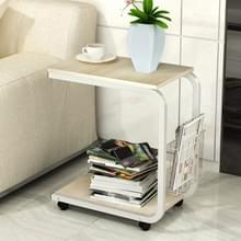 Moderne minimalistische slaapkamer tabel woonkamer mini mobiele kabinet (esdoorn hout)
