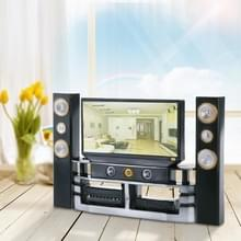 Home Theater accessoires plastic TV Toy Dollhouse meubels kinderen speelgoed