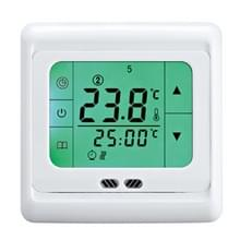 LYK-109 Thermoregulator touch screen verwarming thermostaat voor warme vloer/elektrische verwarmingssysteem temperatuur controller (groen)