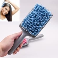 Haardroger Haarkam Waterabsorberende Snelle Airbag Massage Comb Comb Comb (Blauw)
