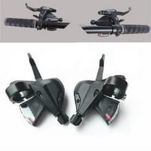 2 PCS / Pair Mountain Bike 8/24 Speed Split Dial Transmission Accessoires