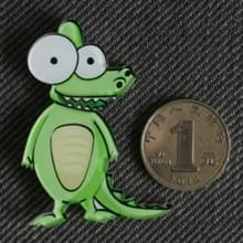 5 PCS cartoon dieren acryl materiaal koelkast magneet (krokodil)