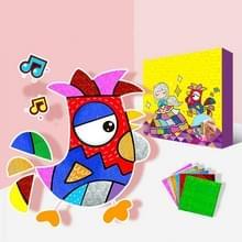 Kinderen handgemaakte DIY Magic Art stickers schilderij kleuterschool creatieve handgemaakte materialen geschenken