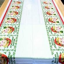 2 PC'S Merry Christmas rechthoekige tafelkleed keuken eettafel covers decoratie (Santa Claus Head)