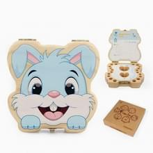 Wisdom Bunny Baby Teeth Collection Box  Specificatie:Engels