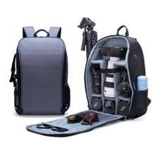 SLR camera tas anti-diefstal waterdichte grote capaciteit schouder outdoor fotografie tas Fashion camera rugzak (grijs)