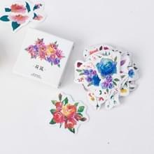 2 PC'S bloem cluster sticker DIY decoratie