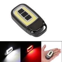 Draagbare mini USB LED zaklamp Torch COB auto sleutel Pocket zaklamp Emergency Camping Nachtlampje met 3-modi