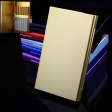 Ultra-dunne persoonlijkheid Creatieve Dames Sigaret Case Metal Cigarette Case (Goud)