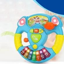 Cartoon Steering Wheel muzikale Handbell vroege onderwijs machine kinderen elektrische muziek speelgoed