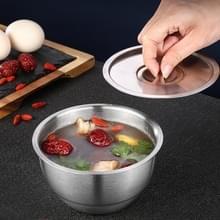 Roestvrij stalen bowl dessert dessert ramen bowl gestoomde rijst soep cup stew cup met deksel