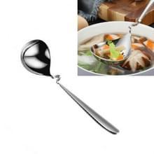 Roestvrij staal lange handvat huishouden opknoping muur drinken soep lepel  stijl: soep lepel