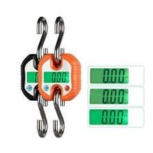 150kg mini draagbare Heavy Duty elektronische digitale roestvrijstalen haak schaal  willekeurige kleur levering