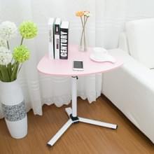 Verwisselbare laptop tafel bed Desk Learning Bureau koffietafel (roze)
