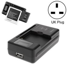 Intelligent LCD-indicator display USB-poort universele batterijlader  UK plug