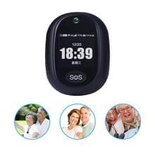 REACHFAR RF-V45-A Mini GPS Smart Tracker Hanger  Ondersteuning SOS / Camera / Health Management / 4G LTE(Zwart)