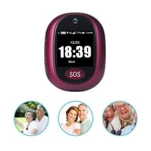 REACHFAR RF-V45-B Mini GPS Smart Tracker Hanger  Ondersteuning SOS / Camera / Health Management / 4G LTE (Wijn Rood)