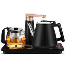 Automatische roestvrijstaal huishoudelijke pompen elektrische waterkoker thee set (donkerblauw rubber)