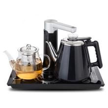 Automatische roestvrijstaal huishoudelijke pompen elektrische waterkoker thee set (zwart warm)
