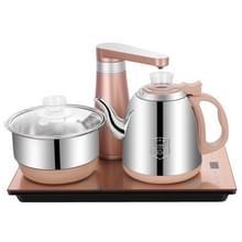 Volautomatische water elektrische ketel Home Cooking waterfles pompen elektrische thee kachel set (roestvrijstaal goud)
