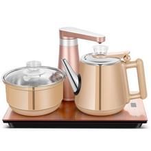 Volautomatische water elektrische ketel Home Cooking waterfles pompen elektrische thee fornuis set (goud rubber)