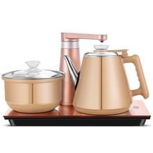 Volautomatische water elektrische ketel Home Cooking waterfles pompen elektrische thee fornuis set (Champagne goud rubber)