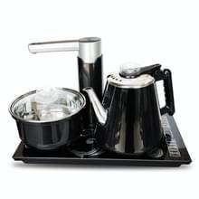 Volautomatische water elektrische ketel Home Cooking waterfles pompen elektrische thee fornuis set (zwarte desinfectie)