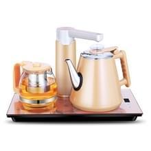 Intelligente inductie fornuis zelf-absorptie ketel huishoudelijke pompen thee set (goud rubber)