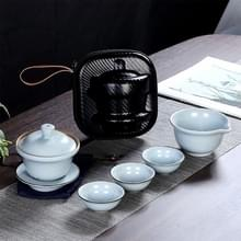 Draagbare reizen Kung Fu Teaware Thee beker set