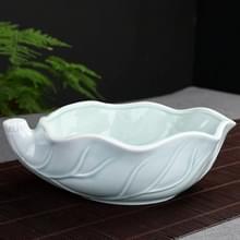 Thee wassen keramische Cup thee set accessoires celadon Daffodil bloempot (blauw)