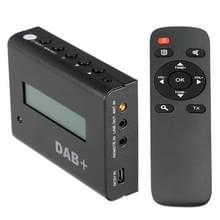 BLH-616 auto digitale DAB / DAB + ontvanger LCD Display doos van de Tuner van de FM met externe Control(Black)