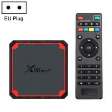 X96 mini + 4K Smart TV BOX Android 9.0 Media Player met afstandsbediening  Amlogic S905W4 Quad Core ARM Cortex A53 tot 1 2 GHz  RAM: 2 GB  ROM: 16 GB  2 4 G / 5 G WiFi  HDMI  TF-kaart  RJ45  EU-stekker