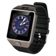 DZ09 1.56 duim scherm blauwtooth 3.0 Android 4.1 OS boven Smart Watch Phone met blauwtooth & oproep herinnering & slaap Monitor & stappenteller & sedentair herinnering & kalender & SMS & Audio en Video speler & anti-verlies functie(zwart)