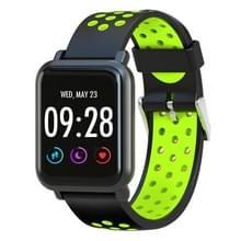 D10 1 54 inch scherm Display Bluetooth Smart Watch  steun stappenteller / hartslag monitor / slapen Monitor / sedentaire herinnering  compatibel met Android en iOS Phones(Green)