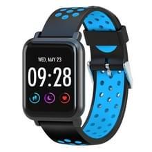 D10 1 54 inch scherm Display Bluetooth Smart Watch  steun stappenteller / hartslag monitor / slapen Monitor / sedentaire herinnering  compatibel met Android en iOS Phones(Blue)