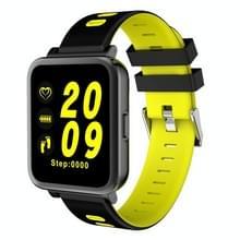 D10 1 54 inch scherm Display Bluetooth Smart Watch  steun stappenteller / hartslag monitor / slapen Monitor / sedentaire herinnering  compatibel met Android en iOS telefoons (groen licht)