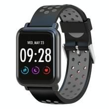 D10 1 54 inch scherm Display Bluetooth Smart Watch  steun stappenteller / hartslag monitor / slapen Monitor / sedentaire herinnering  compatibel met Android en iOS Phones(Silver)