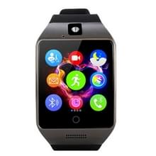 Q18S 1 54 inch IPS scherm MTK6260A Bluetooth 3.0 Smart Watch Phone  stappenteller / sedentaire herinnering / slapen Monitor / Anti-verlies / Remote Camera / GSM / 0 3 M Camera (zwart + grijs)