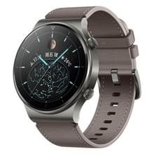 HUAWEI WATCH GT 2 Pro Fashion Ver. Bluetooth Fitness Tracker Smart Watch 46mm polsbandje  Kirin A1 Chip  Support Heart Rate & Pressure Monitoring / Sports Recording / GPS(Grey)