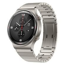 HUAWEI WATCH GT 2 Porsche Ver. 46mm Polsband Bluetooth Fitness Tracker Smart Watch  Titanium Metal Body + Sapphire Glass Mirror  Kirin A1 Chip  Support Heart Rate & Pressure Monitoring / Sports Recording / GPS(Grey)