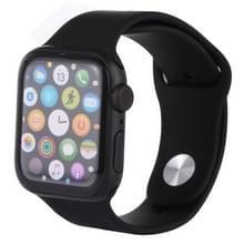 Kleurenscherm niet-werkende Fake Dummy Display Model voor de Apple Watch serie 4 44mm (zwart)