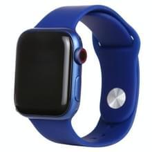 Zwart scherm niet-werkend nep dummy-displaymodel voor Apple Watch Series 6 40mm (blauw)