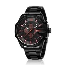 CAGARNY 6839 Fashion waterdichte quartz horloge met roestvrijstalen band