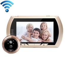 Danmini YB-43HD-MW 4 3 inch scherm WiFi Camera Video Alarm Smart digitale deur-Viewer  steun TF kaart & beweging detecteren & infrarood nachtzicht