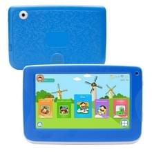 758 Kids Education Tablet PC met beugel  7 0 inch  512MB + 8GB  Android 4 4 Allwinner A33 cortex A7-processor  ondersteuning WiFi/LED-achtergrondverlichting/G-sensor (blauw)